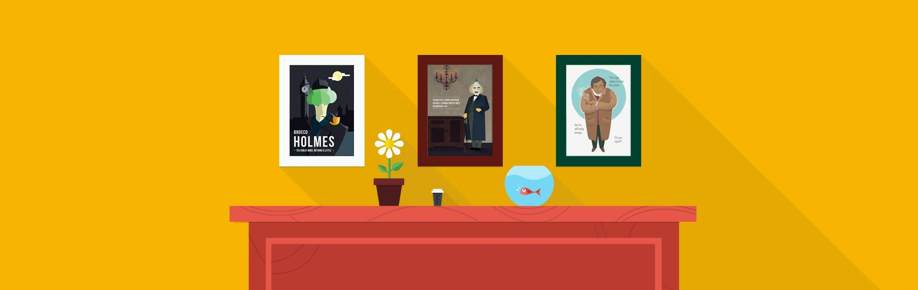 Vegetables Detectives Posters